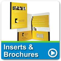 Inserts & Brochures