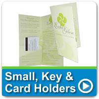 Hotel Key & Card Folders