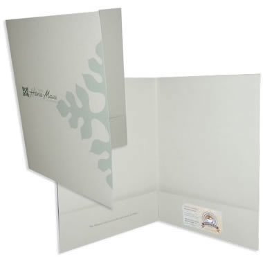 08-10 Two Pocket Folder with Square Corners