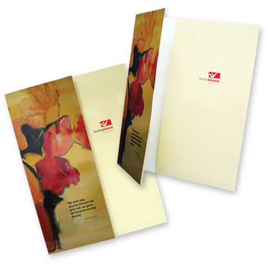 08-32 One Small and One Vertical Pocket Folder