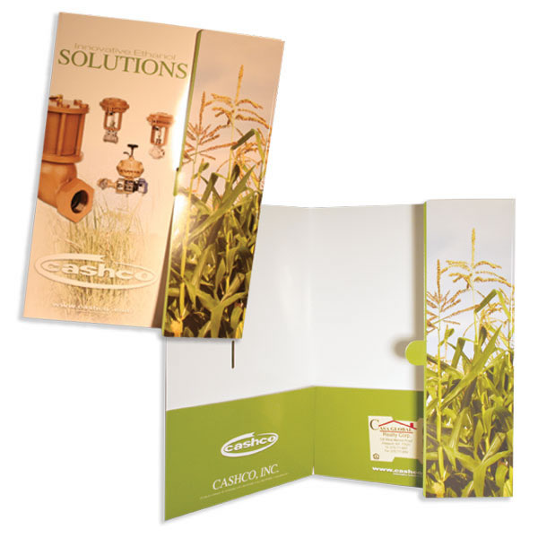 08-55 Two Pocket Folder with Tuck Flap
