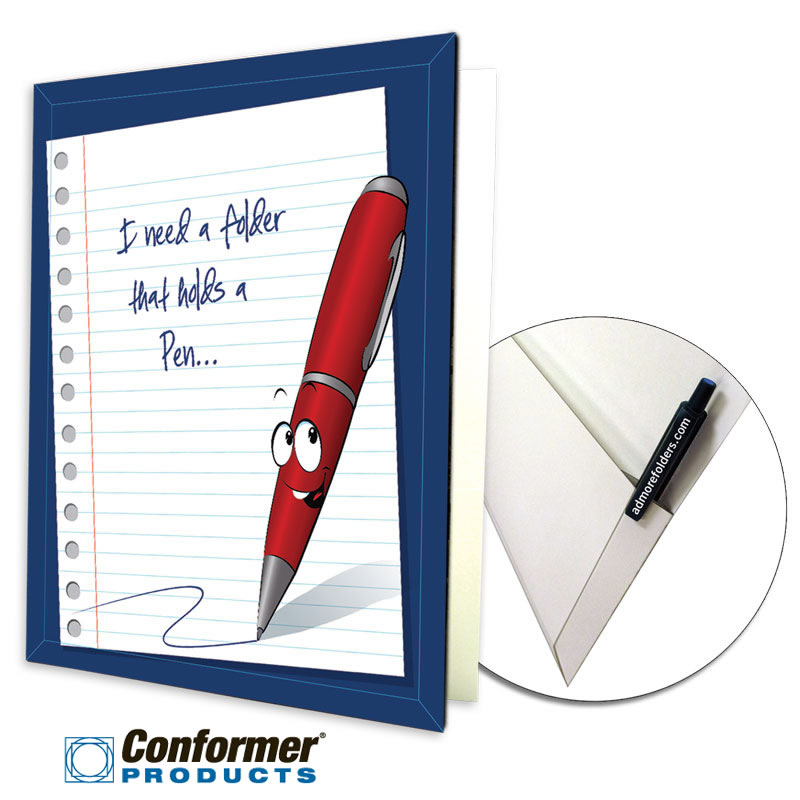 08-65-CON-PEN Conformer® Folder with Pen Holder