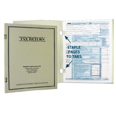09-03-004 Tax Return Cover