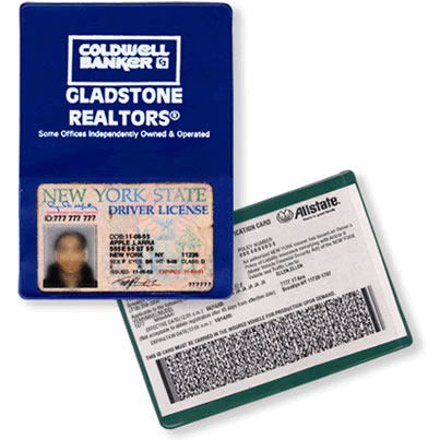 24-808 Vinyl Insurance Sleeve with Card Pocket