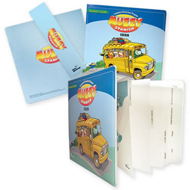 D-89-05 Entrapped Digital Print Vinyl Binder