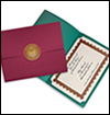 Certificate Covers