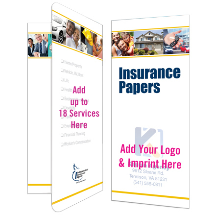 Insurance Papers Folder