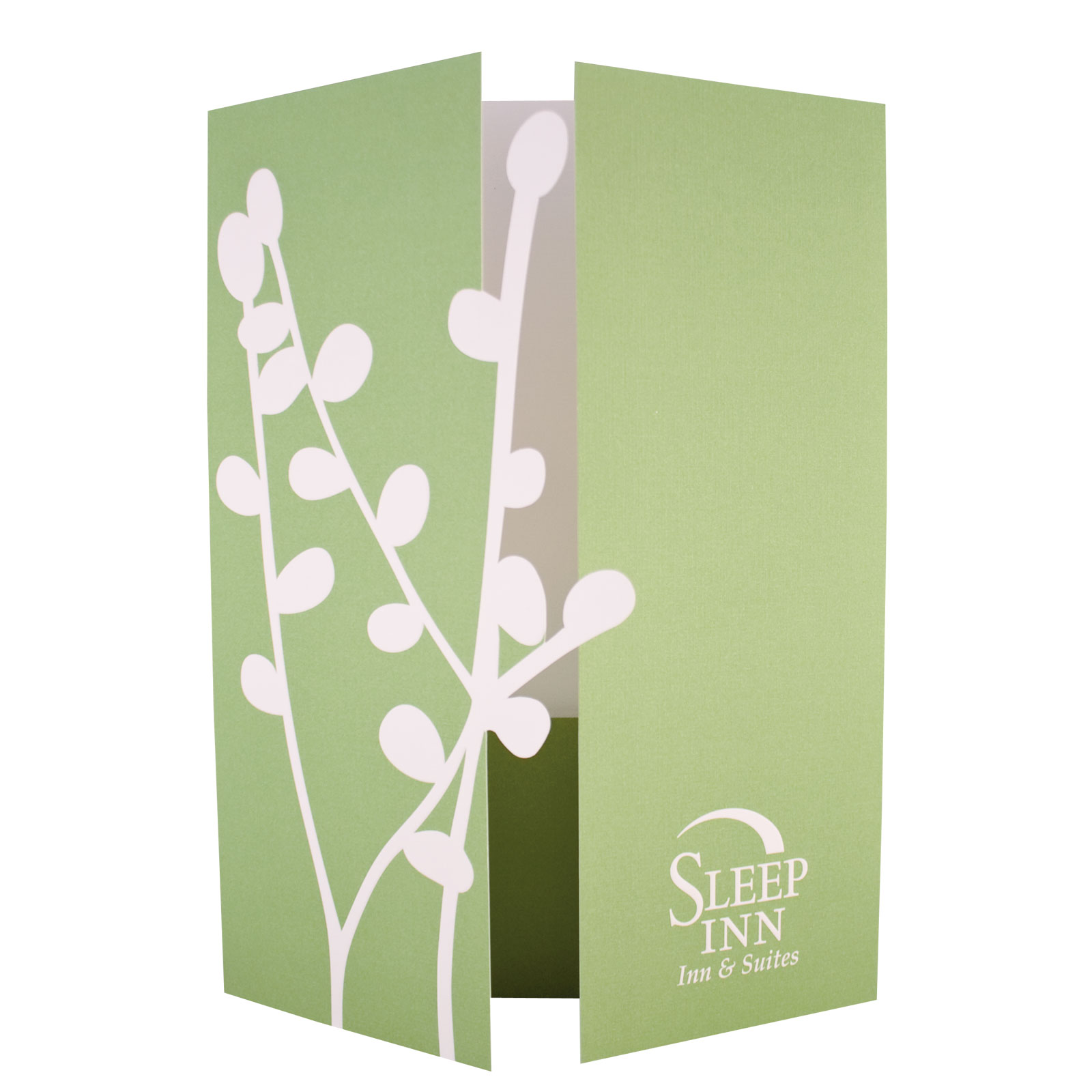 Special Shaped Diecut Gate-fold Front Cover