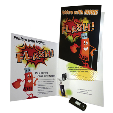 Flash Drive Pen Folders